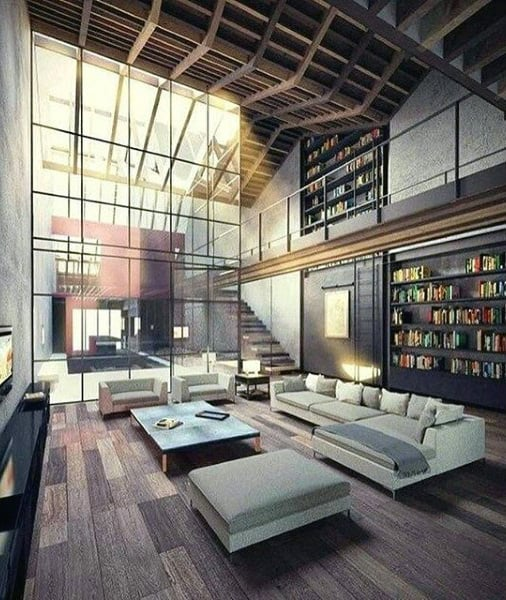 source 100 bachelor pad living room ideas for men masculine designs - Manly Room Decor