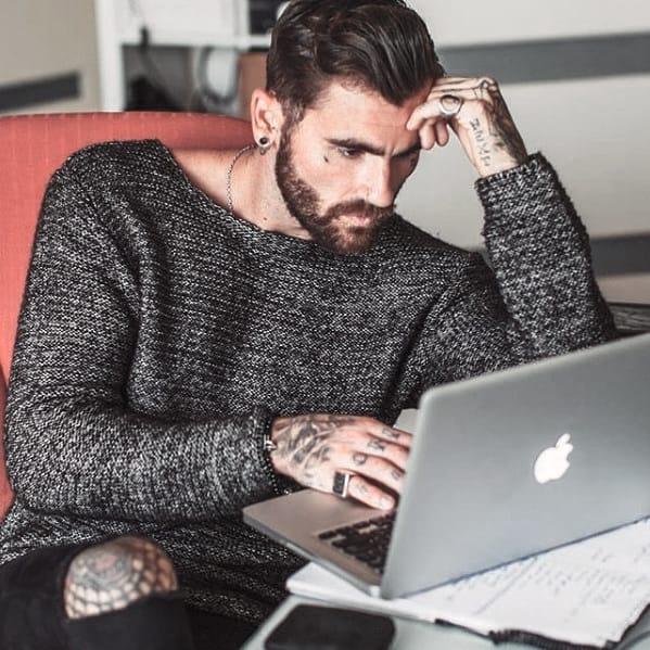 Manly Facial Hair Beard Styles For Men