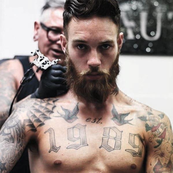 Manly Facial Hair Guys Beard Styles