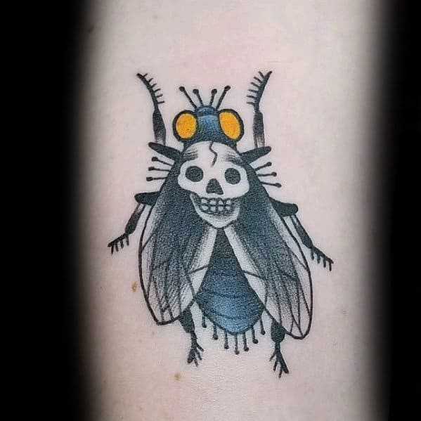 Manly Fly Tattoo Design Ideas For Men