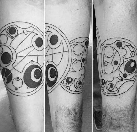 Manly Gallifreyan Male Tattoo Ideas On Arm