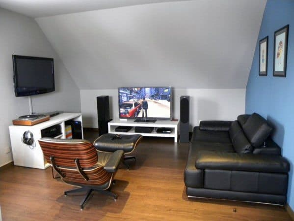 Small Attic Man Cave : Gaming man cave design ideas for men manly home retreats