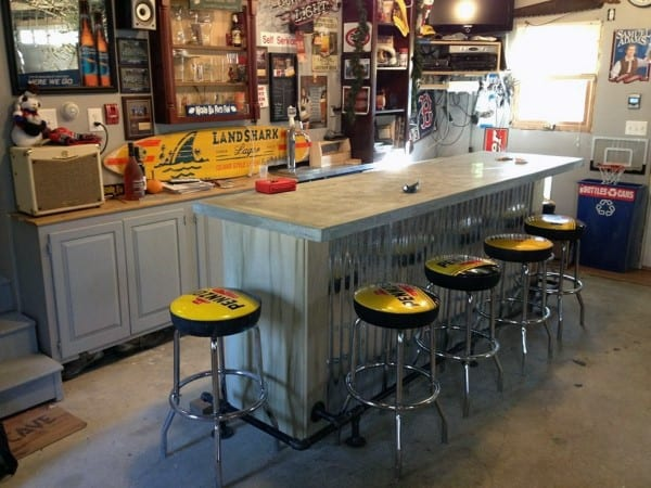 Manly Garage Bar Ideas