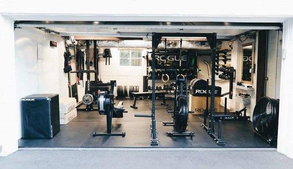 Manly Garage Gym Ideas