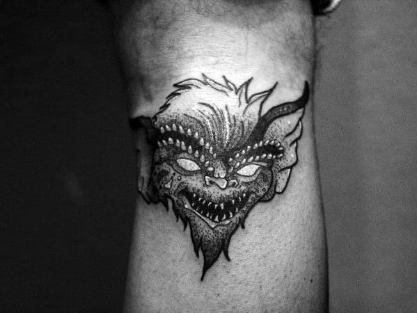 Manly Gremlin Tattoos For Males