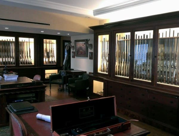 Manly Gun Room Design