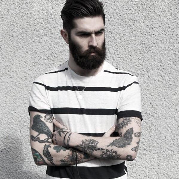 Manly Hair Mens Beard Styles