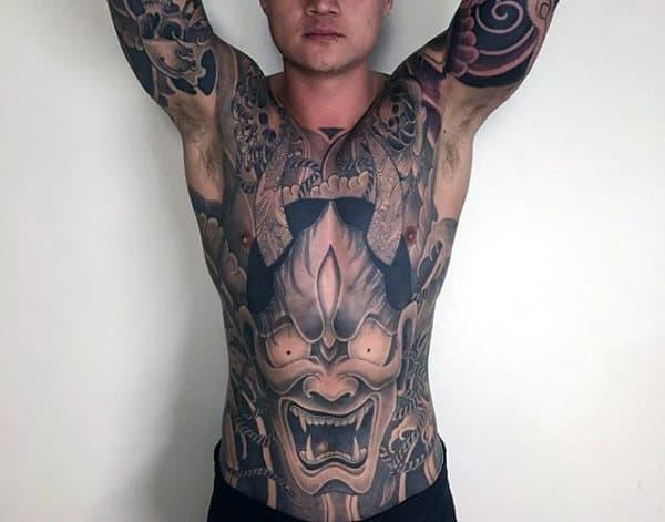Top 103 Hannya Mask Tattoo Ideas [2020 Inspiration Guide]
