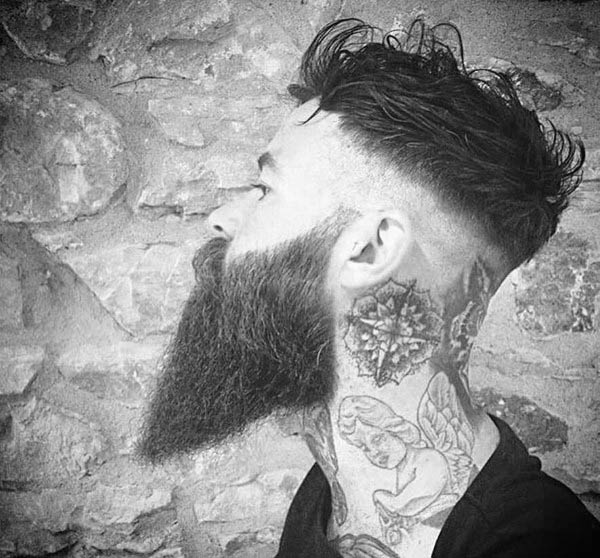 Manly High Fade Undercur Hairstyle For Men