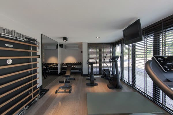 manly home gym design idea inspiration