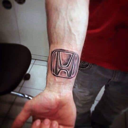 Manly Honda Tattoos For Males