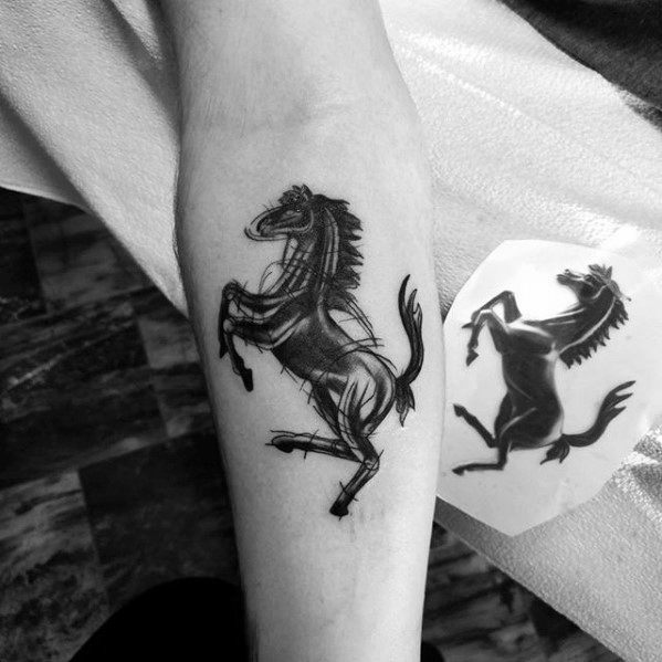 Manly Horse Tattoo Design Ideas For Men