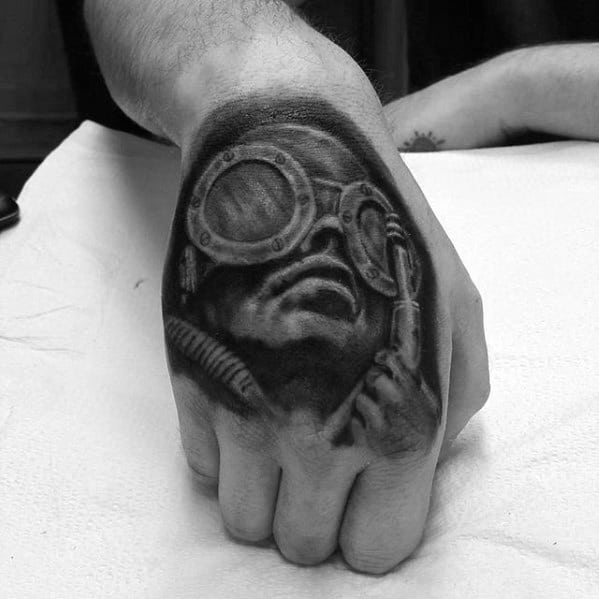 Manly Hr Giger Tattoo Design Ideas For Men