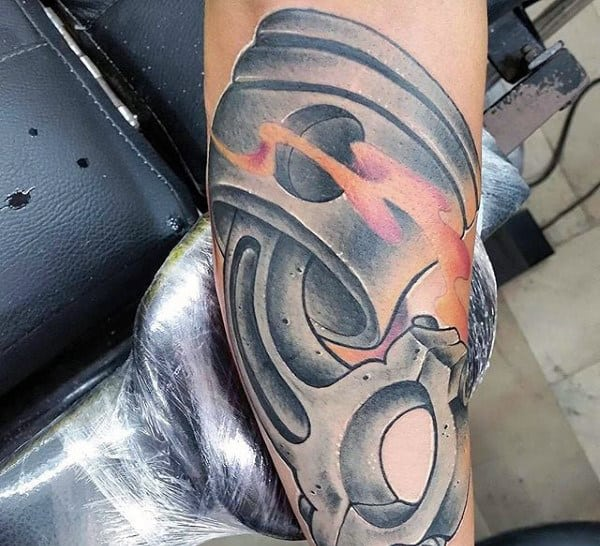 Manly Ink Tattoo Ideas For Men With Pistons