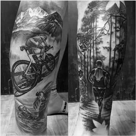 Manly Ironman Tattoo Design Ideas For Men