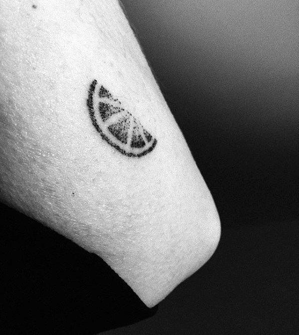 Manly Lemon Tattoo Design Ideas For Men