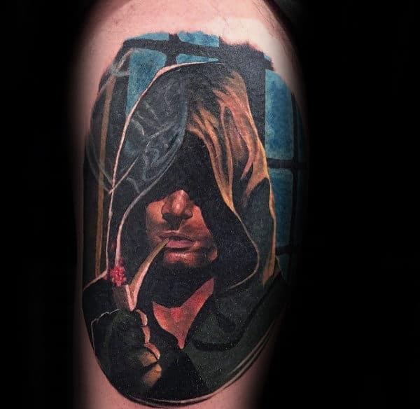Manly Lord Of The Rings Aragorn Male Tattoo Ideas On Arm