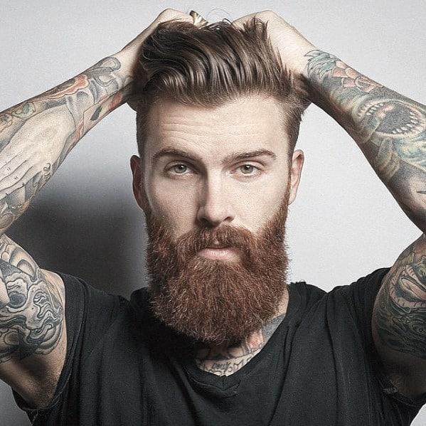 Manly Male Beard Style Ideas