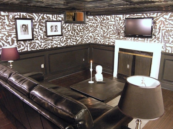 Manly Man Cave Ideas