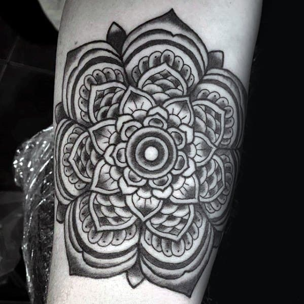 Manly Mandala Tattoo Design Ideas For Men
