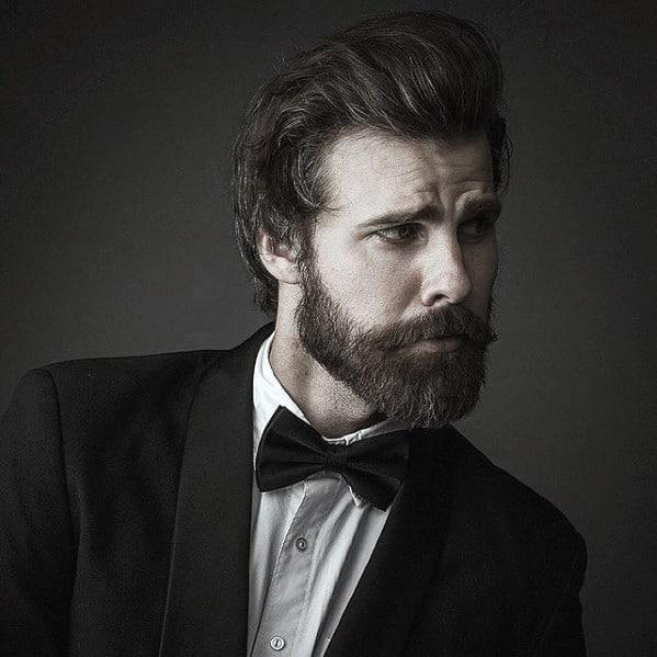 Manly Medium Male Beard Style Ideas