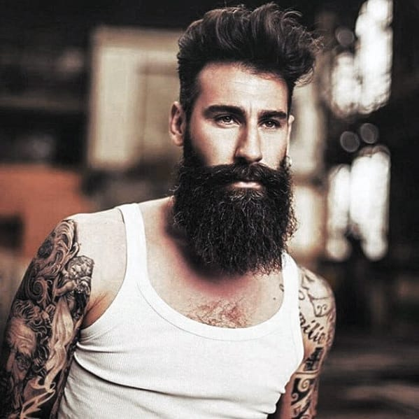 Manly Mens Big Beard Style Ideas