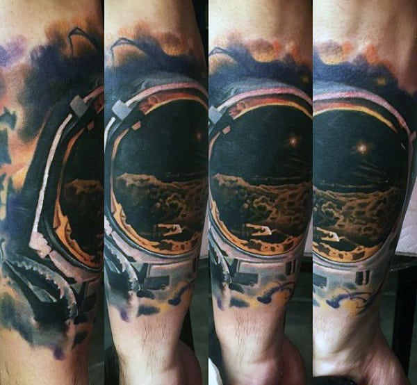 Manly Men's Constellations Tattoos Designs