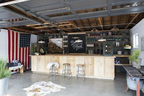 Manly Mens Garage Bar