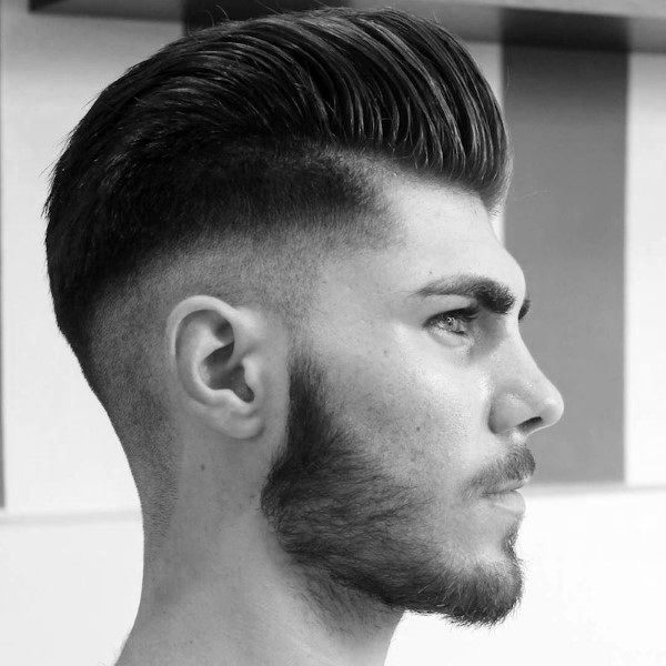 Manly Mens Hair Pompadour