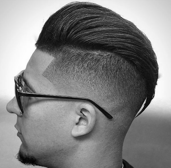 Manly Mens Hair Skin Taper Fade