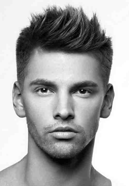 Stupendous 40 Spiky Hairstyles For Men Bold And Classic Haircut Ideas Short Hairstyles For Black Women Fulllsitofus
