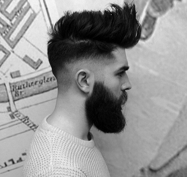 Manly Mens Trendy Haircut