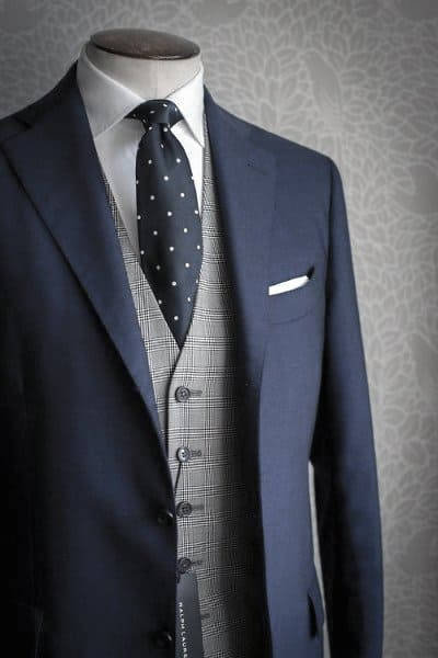 Manly Navy Blue Suit Male Style Ideas