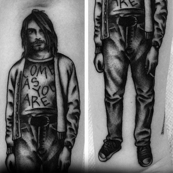 Manly Nirvana Tattoo Design Ideas For Men