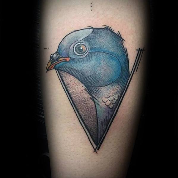 Manly Pigeon Tattoo Design Ideas For Men
