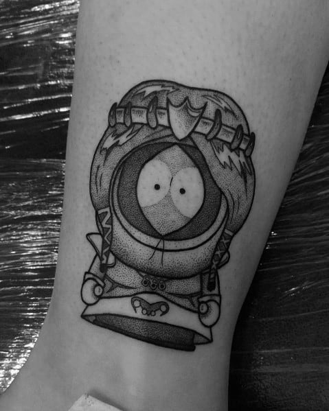 Manly South Park Tattoos For Males Kenny Design