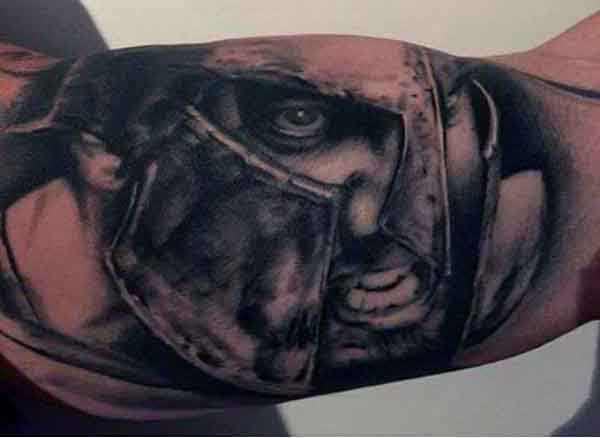 Manly Spartan Tattoo Inspiration Ideas