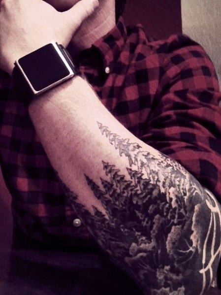 Manly Tree Tattoos