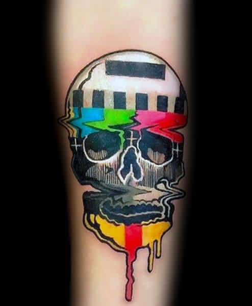 Manly Tv Tattoos For Males