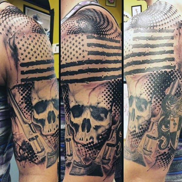Manly Unique Military Tattoos