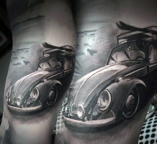 Manly Volkswagen Wv Tattoo Design Ideas For Men