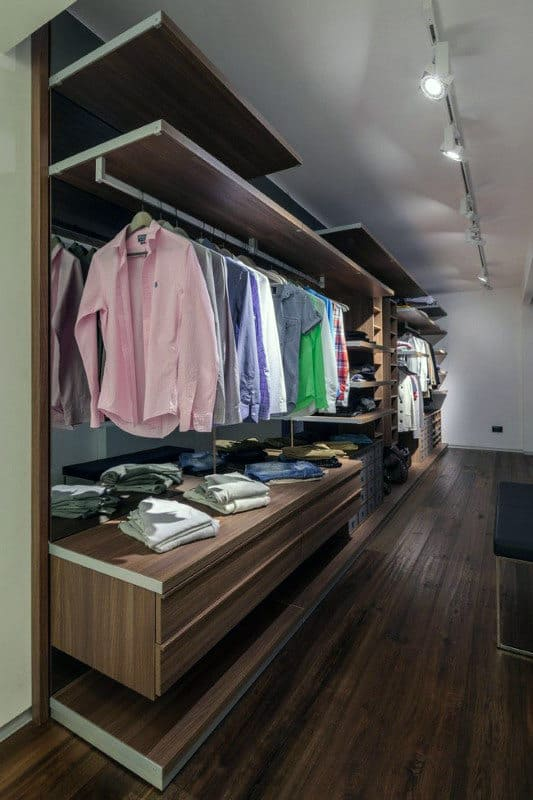 manly walk in closet inspiration best lighting for closets