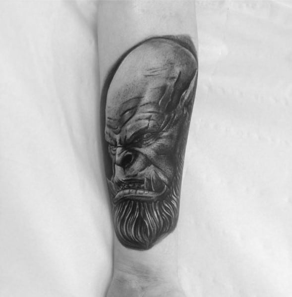 Manly World Of Warcraft Tattoos For Males