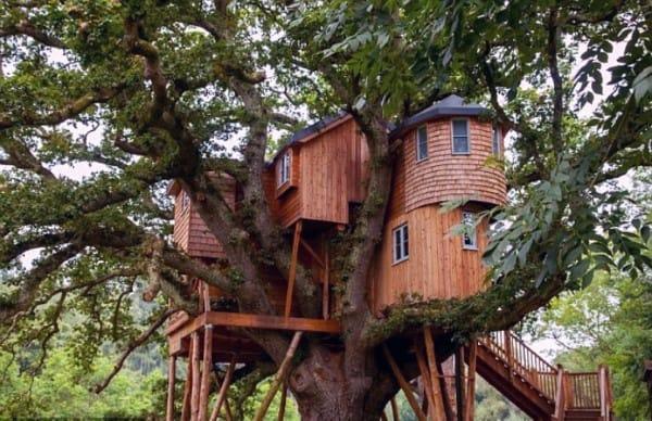 Mansion Treehouse Ideas
