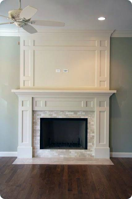 Mantel Fireplace Design
