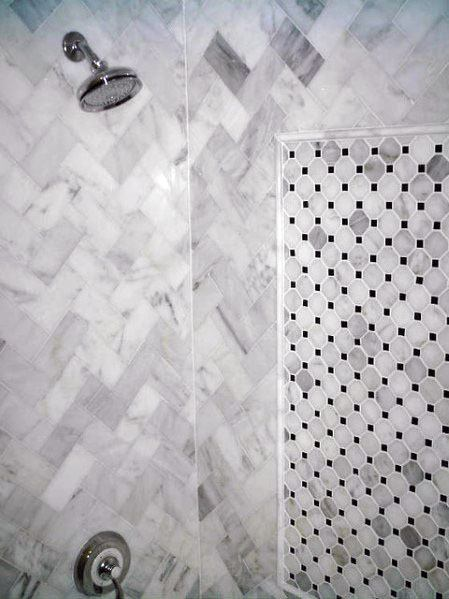 Marble Bathroom Idea Inspiration Shower Tile