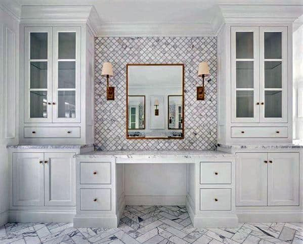 custom bathroom cabinet ideas