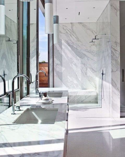 Marble Bathroom Interior Design Inspiration