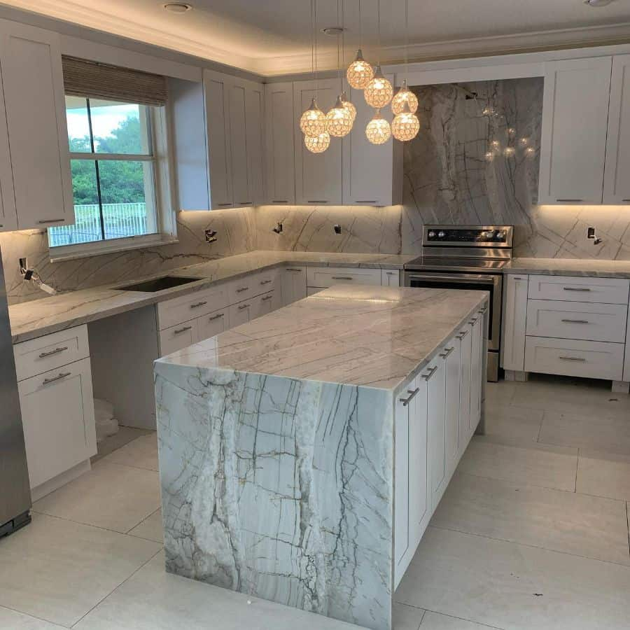 marble kitchen tile backsplash ideas jesuscabinetandgranite