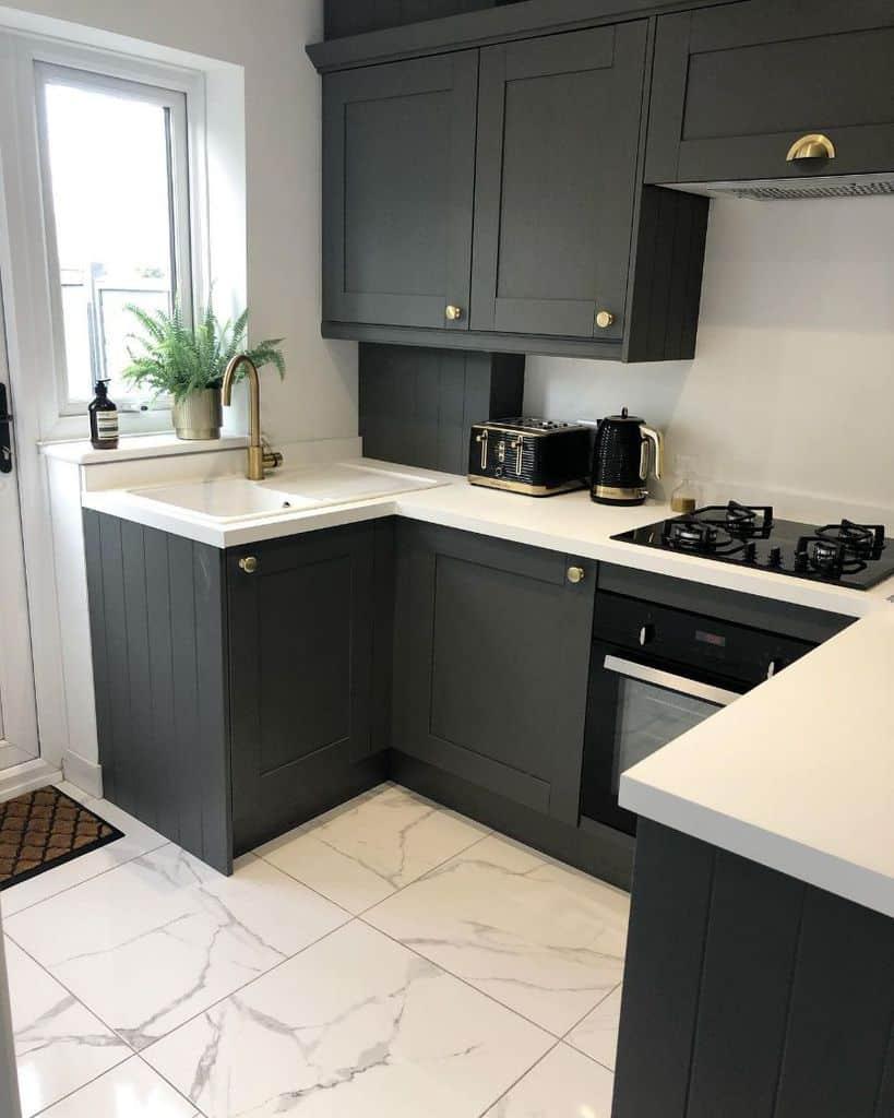 marble kitchen tile ideas ellieandtom_homereno